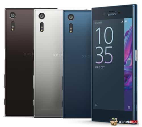 มือถือกันน้ำ 8 Sony Xperia XZ