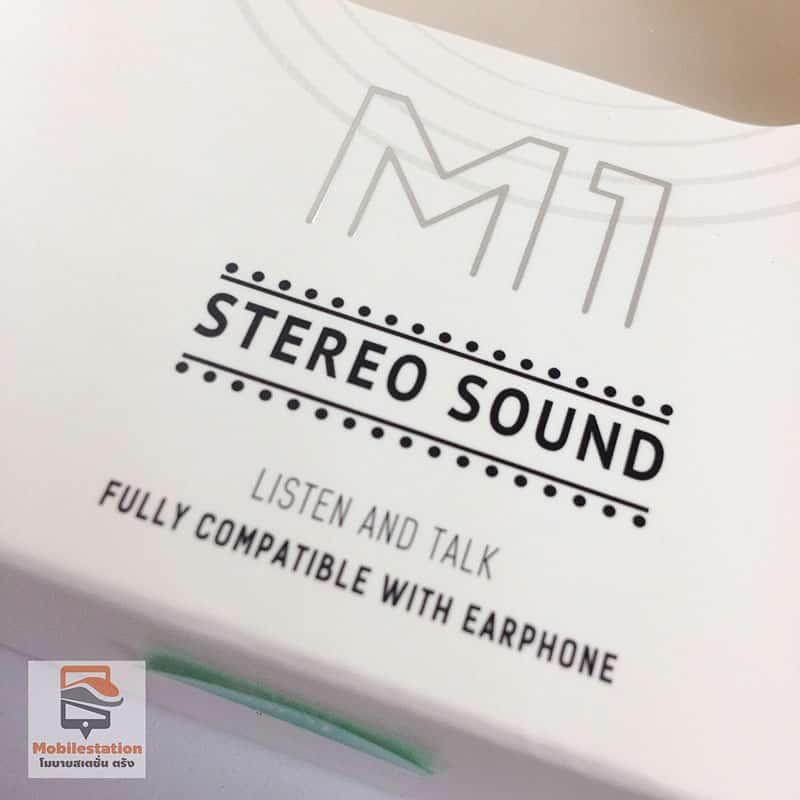 หูฟังไอโฟน แท้ hoco original m1