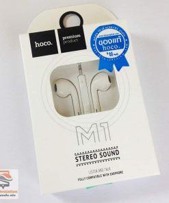 หูฟังไอโฟน แท้ hoco original m1 2