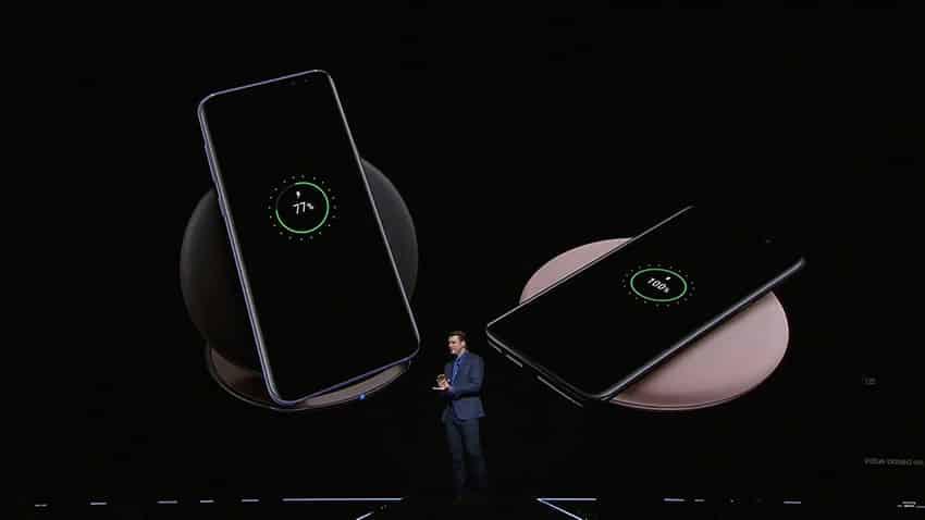 S8 และ S8+ Wireless Charging ชาร์จแบบไร้สาย