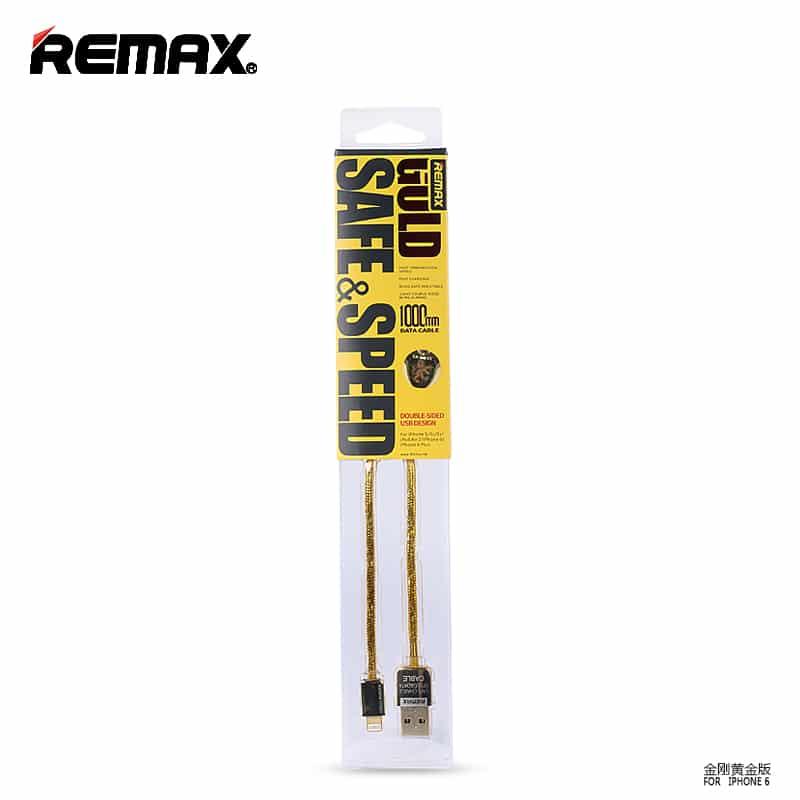 สายชาร์จ remax safe&speed cable for iPhone ทุกรุ่น ๅ