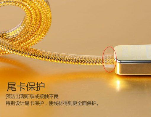 สายชาร์จ remax lds remax gold safe&speed cable 15