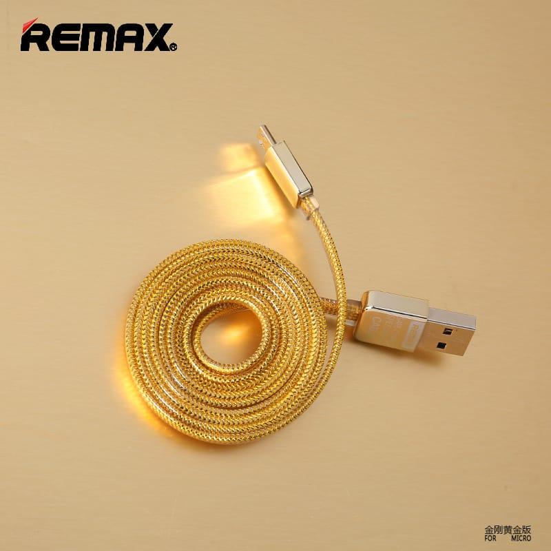 สายชาร์จ remax lds remax gold safe&speed cable 2