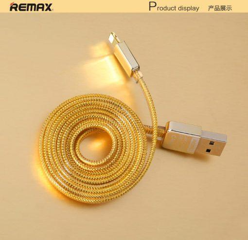 สายชาร์จ remax safe&speed cable for iPhone ทุกรุ่น 4