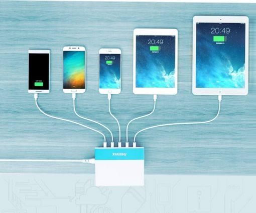 หัวชาร์จ-USB-5-Port-Remax-USB-Charger-5U-รุ่น-RU-U1-16