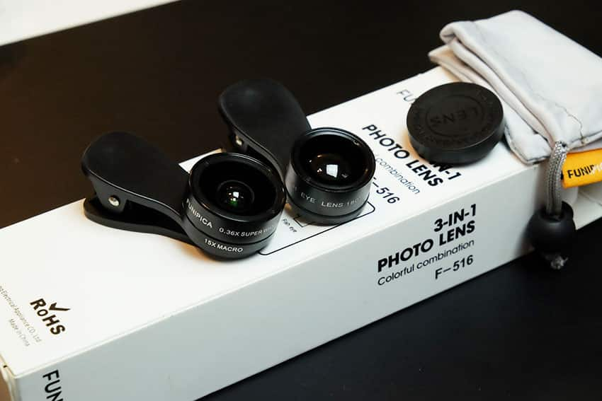 เลนส์มือถือ-Funpica-F-516-3-in-1-0.36X-Super-Wide-Angle-15X-Macro-Lens-7