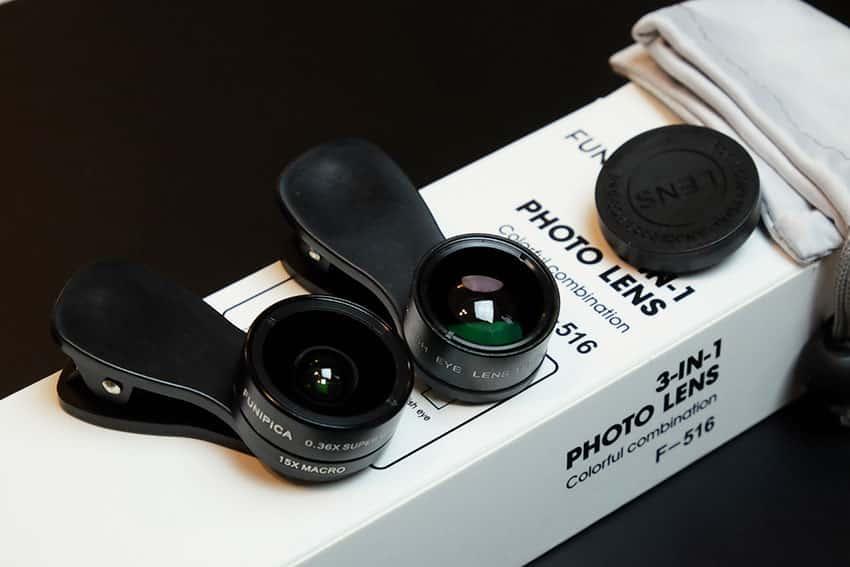 เลนส์มือถือ-Funpica-F-516-3-in-1-0.36X-Super-Wide-Angle-15X-Macro-Lens-8