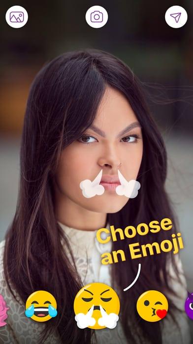 FaceTune จะเปลี่ยนใบหน้าของคุณ ให้เป็น อีโมจิ 8
