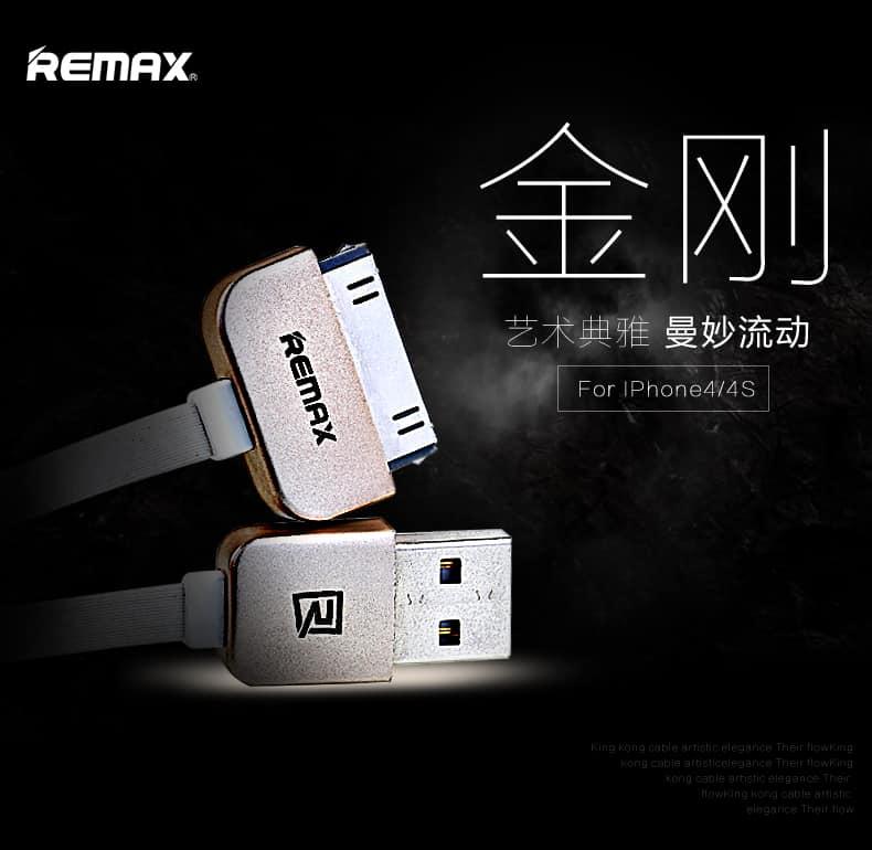 สายชาร์จ Remax Safe&Speed iPhone 4-4S 1