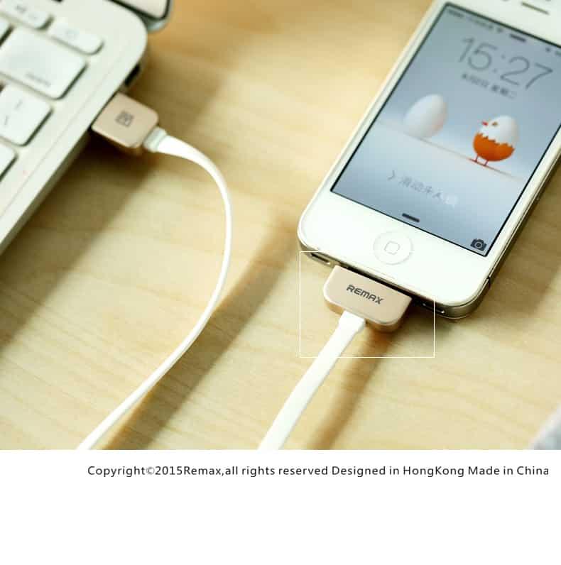 สายชาร์จ Remax Safe&Speed iPhone 4-4S 10