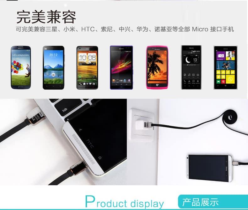 สายชาร์จ Remax Safe&Speed Micro USB For Samsung Android ทุกรุ่น 10