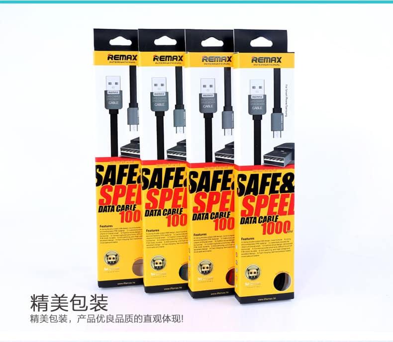 สายชาร์จ Remax Safe&Speed Micro USB For Samsung Android ทุกรุ่น 11