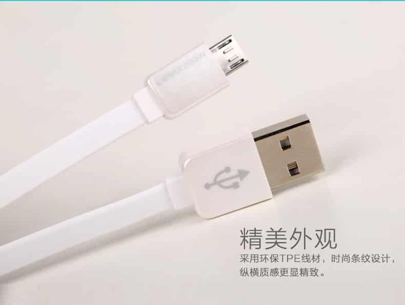 สายชาร์จ Remax Safe&Speed Micro USB For Samsung Android ทุกรุ่น 3