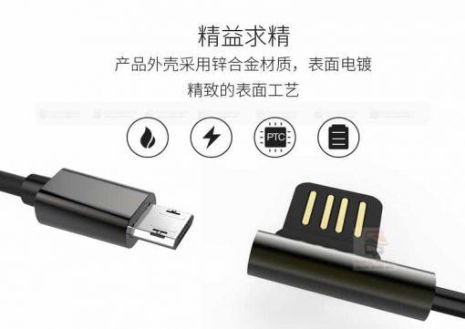 สายชาร์จ remax RC-054m Emperor Data Cable for android 3