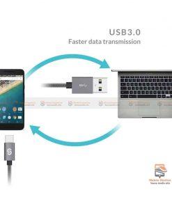 สายชาร์จ Syncwire USB Type C Cable Devices: Apple New Macbook, ChromeBook Google Pixel, Samsung Galaxy S8/S8+, Pixel C, Nexus 5X / 6P, OnePlus 2/3T, HTC 10/U11, Sony Xperia XZ, Lumia 950 / 950XL, LG G5, Asus Zen AiO, Lenovo Zuk Z1, HP Pavilion X2, ASUS ZenPad S 8.0, New Nokia N1 tablet, Nintendo Switch, GoPro5 8