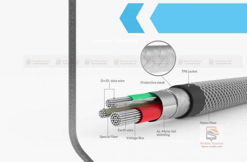 สายชาร์จ lightning Syncwire MFi For iPhone 10
