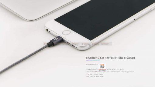 สายชาร์จ lightning Syncwire MFi For iPhone 2