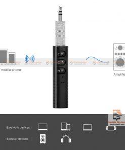 บลูทูธรถยนต์ Bluetooth Audio Receiver Bluetooth Aux 10