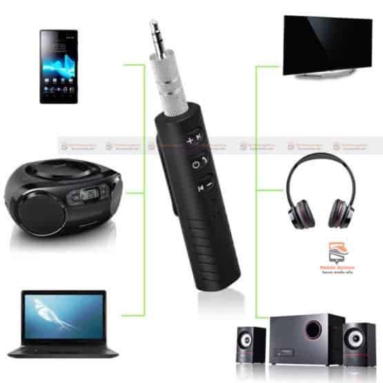 บลูทูธรถยนต์ Bluetooth Audio Receiver Bluetooth Aux 12
