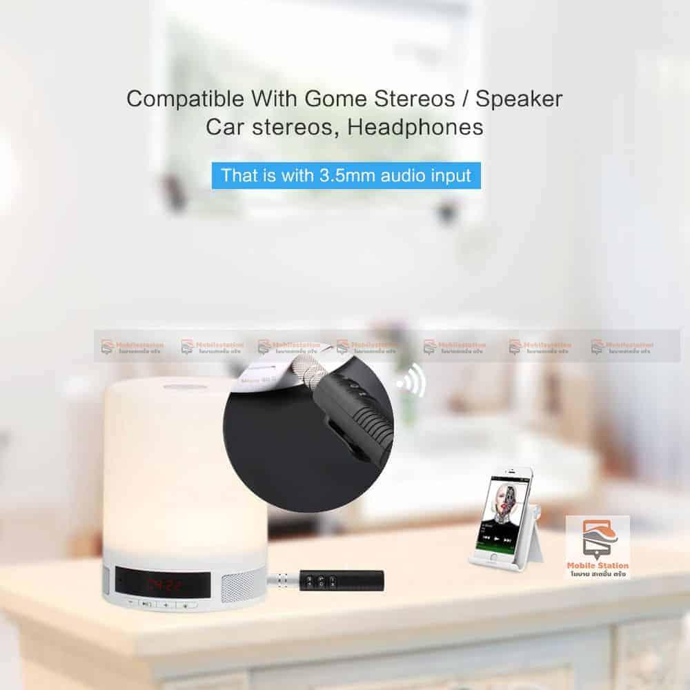 บลูทูธรถยนต์ Bluetooth Audio Receiver Bluetooth Aux 13