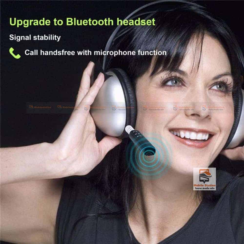 บลูทูธรถยนต์ Bluetooth Audio Receiver Bluetooth Aux 14
