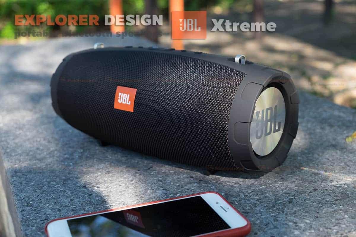 ลำโพงบลูทูธ explorer JBL Xtreme bluetooth speaker CY-29 review เบสหนัก 4