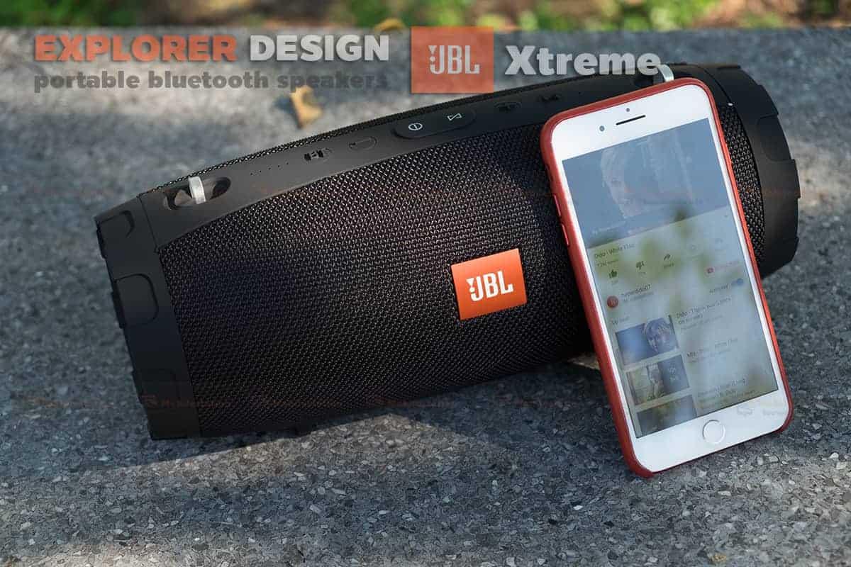ลำโพงบลูทูธ explorer JBL Xtreme bluetooth speaker CY-29 review เบสหนัก 6