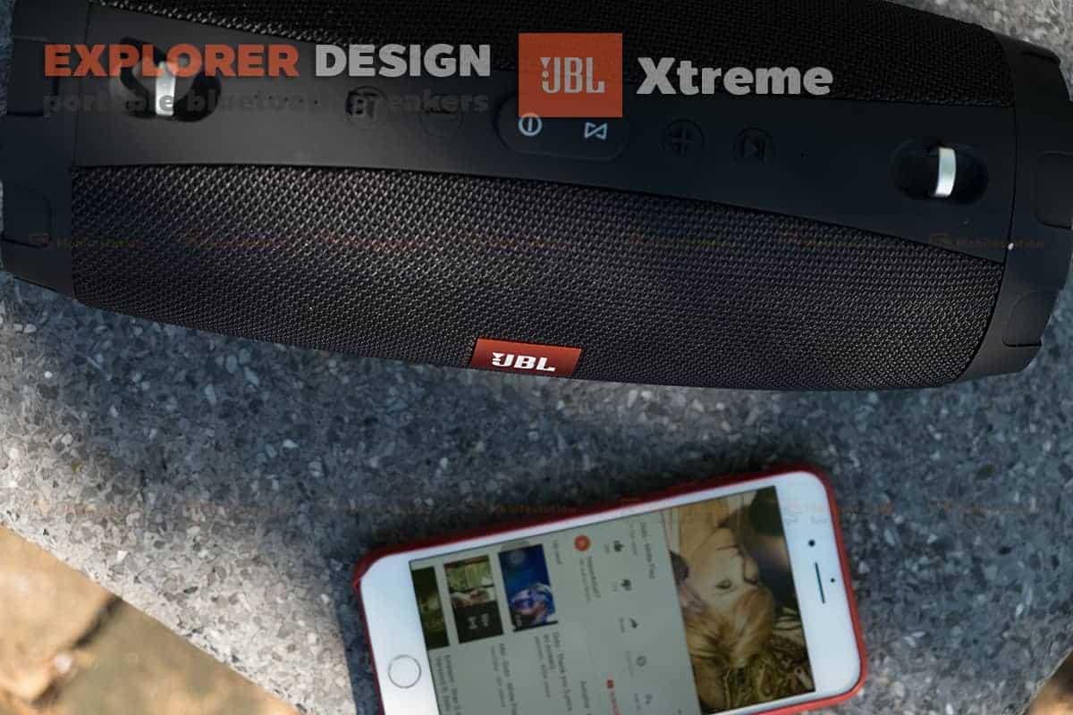 ลำโพงบลูทูธ explorer JBL Xtreme bluetooth speaker CY-29 review เบสหนัก 7