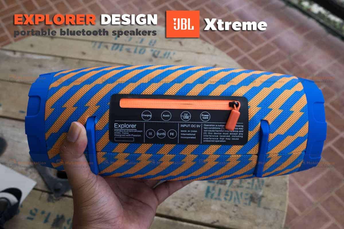 ลำโพงบลูทูธ explorer JBL Xtreme bluetooth speaker CY-29 review-11
