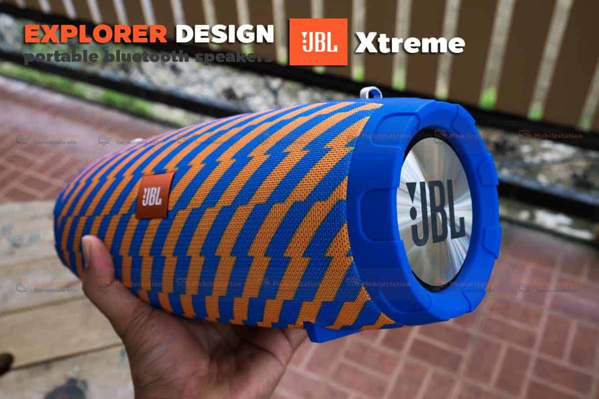 ลำโพงบลูทูธ explorer JBL Xtreme bluetooth speaker CY-29 review-13