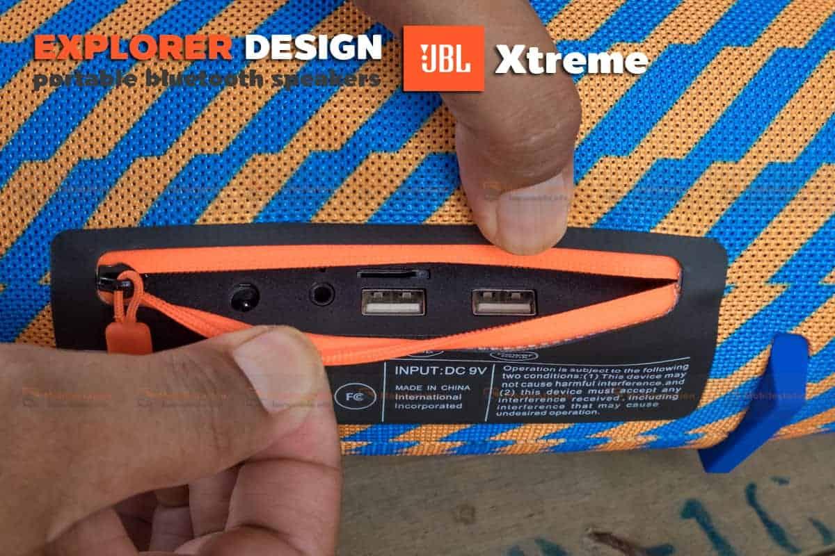 ลำโพงบลูทูธ explorer JBL Xtreme bluetooth speaker CY-29 review-14