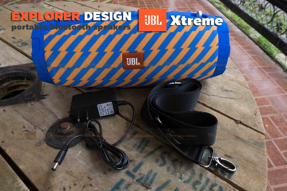 ลำโพงบลูทูธ explorer JBL Xtreme bluetooth speaker CY-29 review-18