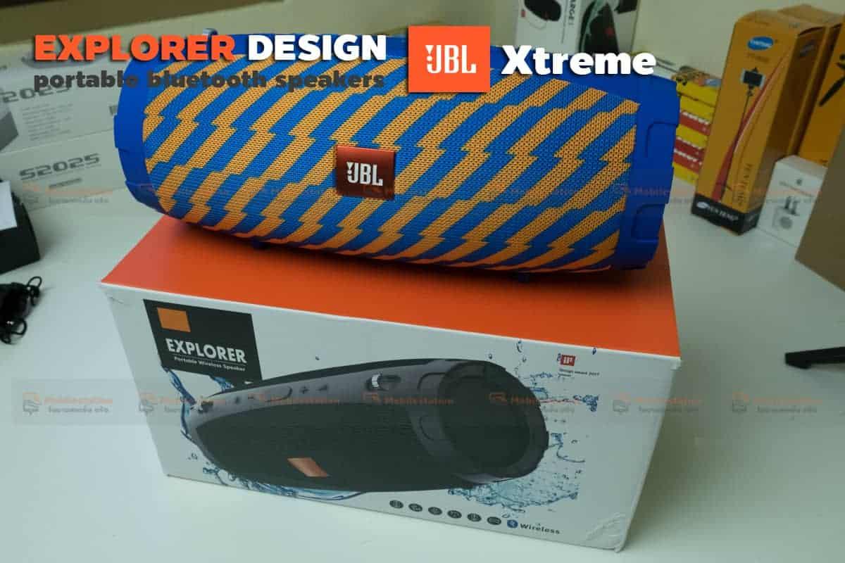 ลำโพงบลูทูธ explorer JBL Xtreme bluetooth speaker CY-29 review-19