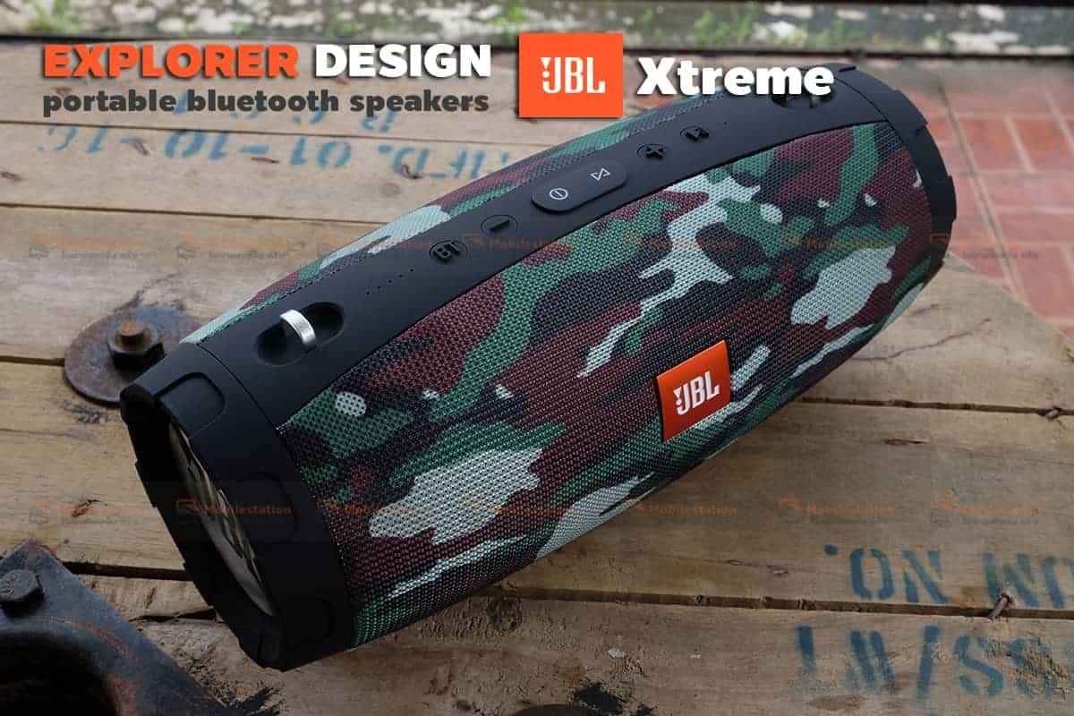 ลำโพงบลูทูธ explorer JBL Xtreme bluetooth speaker CY-29 review-26