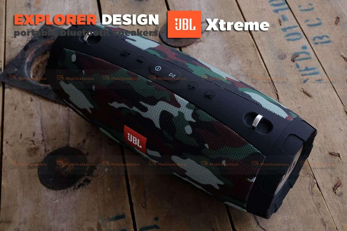 ลำโพงบลูทูธ explorer JBL Xtreme bluetooth speaker CY-29 review-27