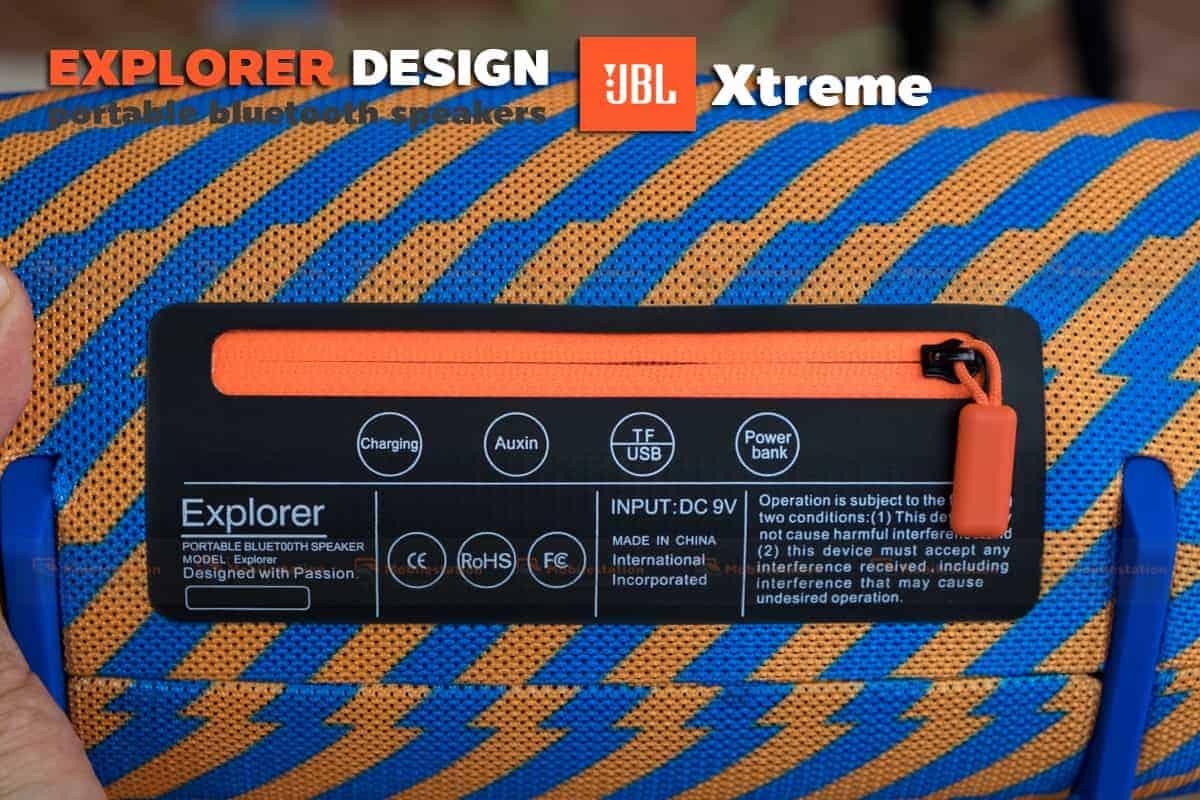 ลำโพงบลูทูธ explorer JBL Xtreme bluetooth speaker CY-29 review-9