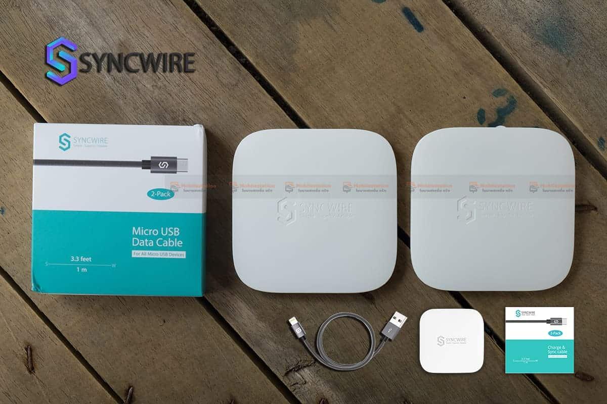 สายชาร์จ Samsung Syncwireไนลอนถัก Micro USB For Samsung Android 1 เมตร 3