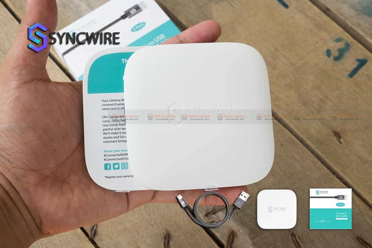 สายชาร์จ Samsung Syncwireไนลอนถัก Micro USB For Samsung Android 2 เมตร 2