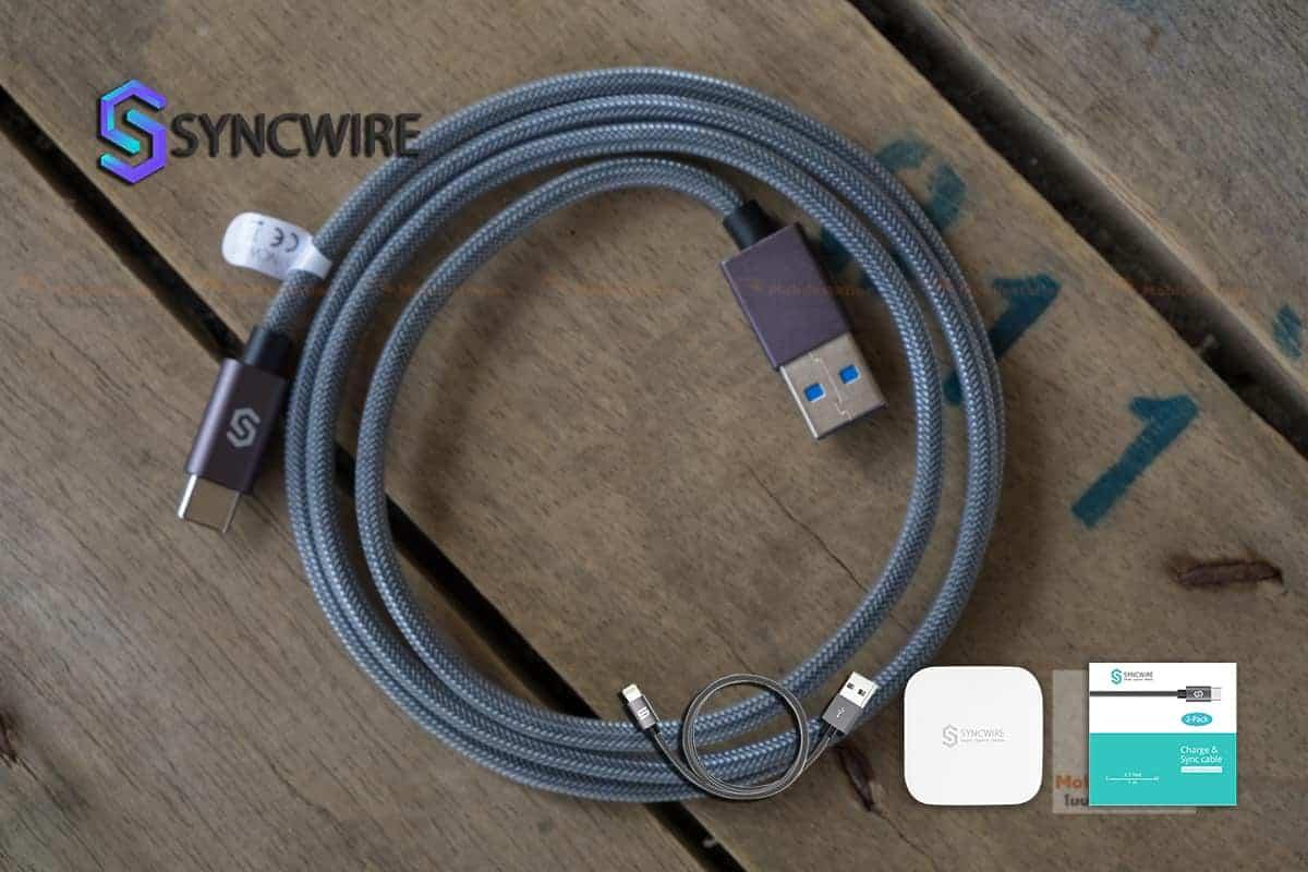 สายชาร์จ Syncwire USB Type C Cable-4