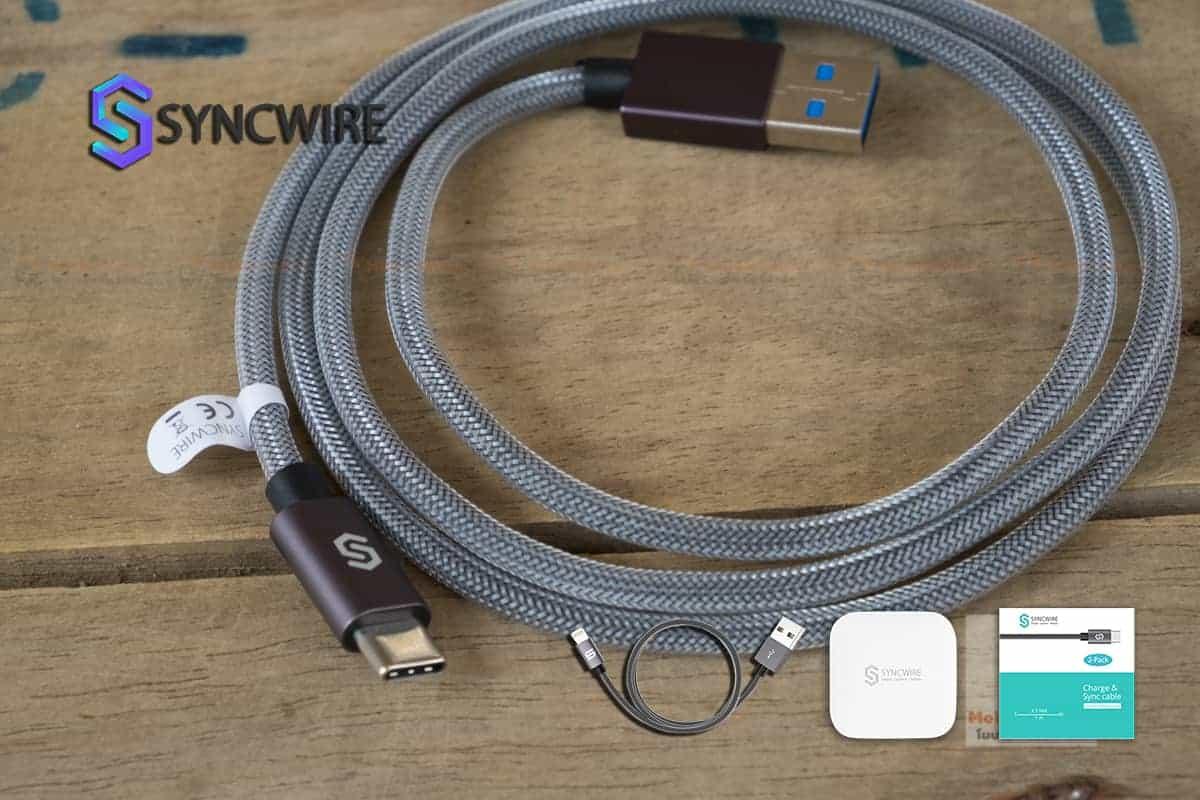 สายชาร์จ Syncwire USB Type C Cable-5