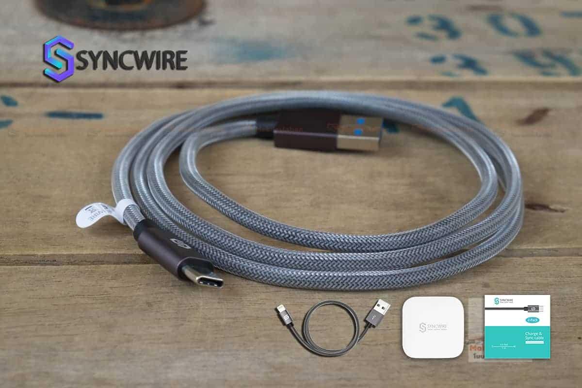 สายชาร์จ Syncwire USB Type C Cable-6