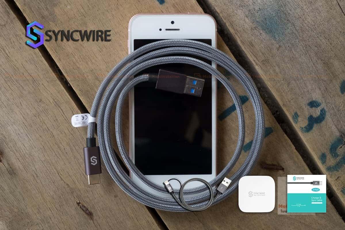 สายชาร์จ Syncwire USB Type C Cable-7