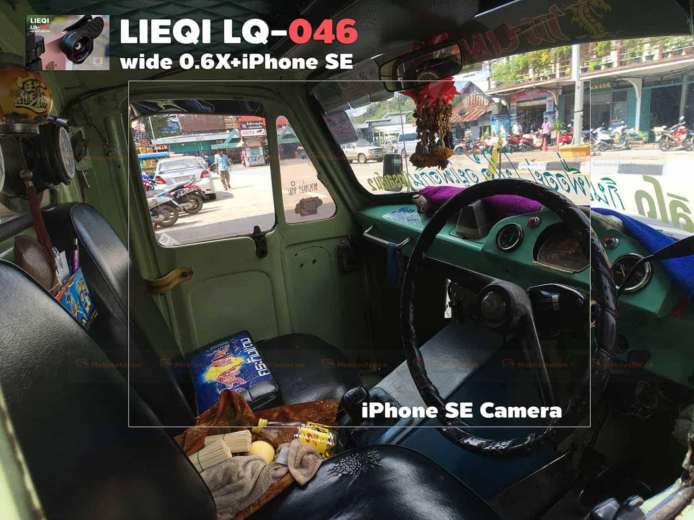 รีวิว LQ-046 เลนส์มือถือ Lieqi HD Wide 0.6X+Macro 15X ถ่ายสวยใส ไม่มีขอบดำ คมชัดทั้งภาพ กล้อง iPhone SE-13
