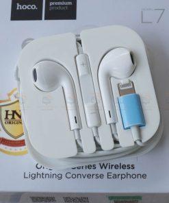 หูฟังไอโฟน7,7plus,8 Hoco L7 apple Origianl series lightning bluetooth ราคาถูก เสียงดี-16