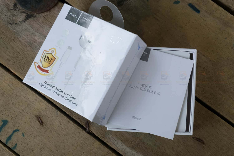 หูฟังไอโฟน7,7plus,8 Hoco L7 apple Origianl series lightning bluetooth ราคาถูก เสียงดี-7
