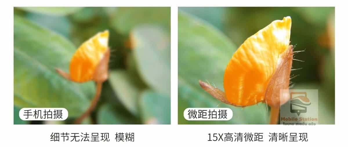 เลนส์มือถือ Lieqi Lq 046 wide 0.6x + macro 15x-10