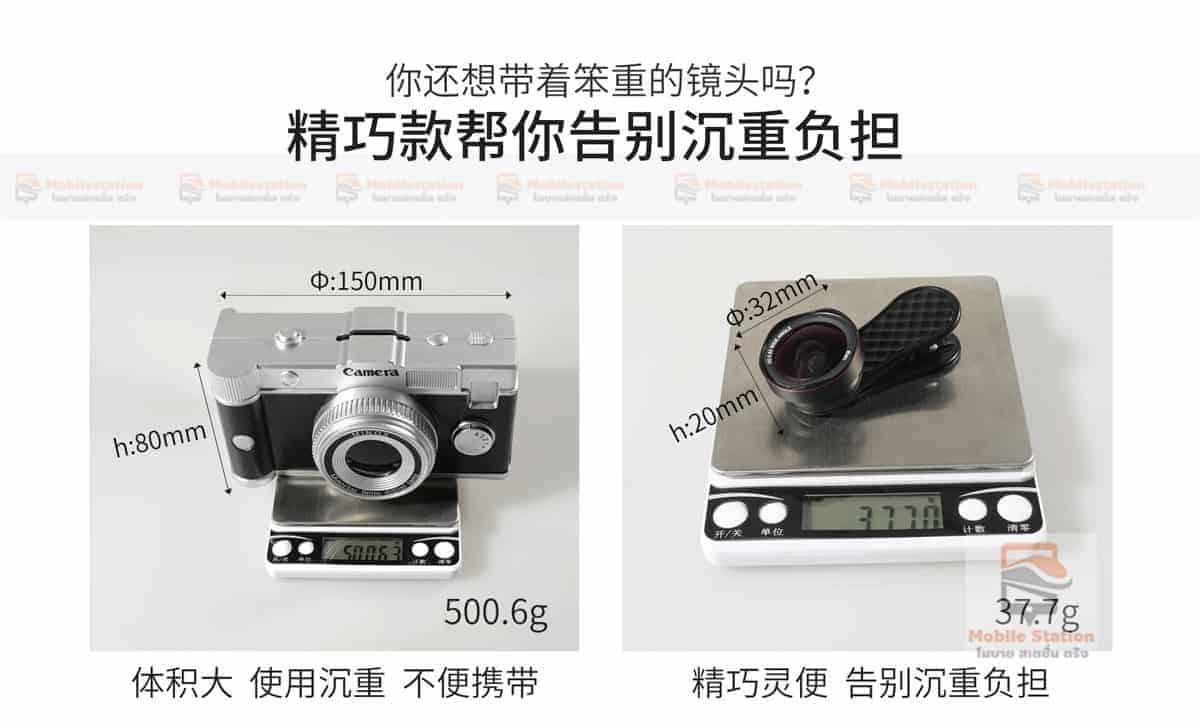 เลนส์มือถือ Lieqi Lq 046 wide 0.6x + macro 15x-20