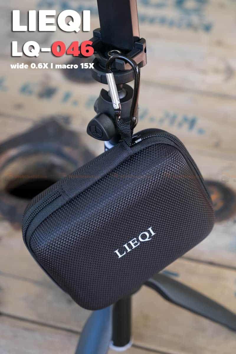 LQ-046 เลนส์มือถือ Lieqi HD Wide 0.6X+Macro 15X ถ่ายสวยใส ไม่มีขอบดำ คมชัดทั้งภาพ-7