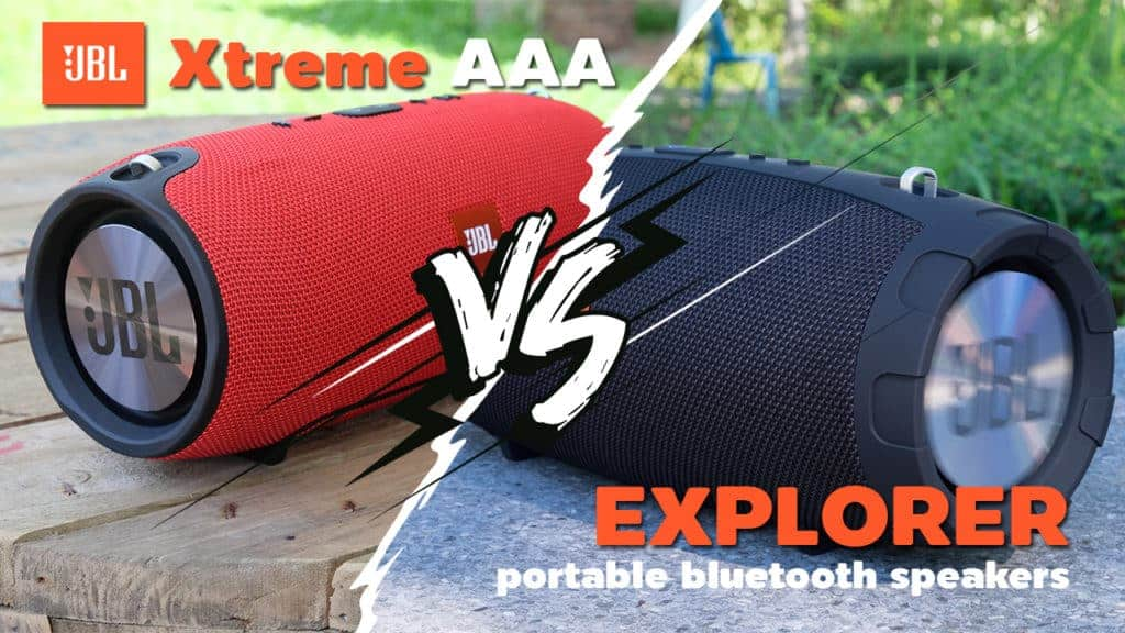 jbl extreme ก็อบ เปรียบเทียบ explorer 20