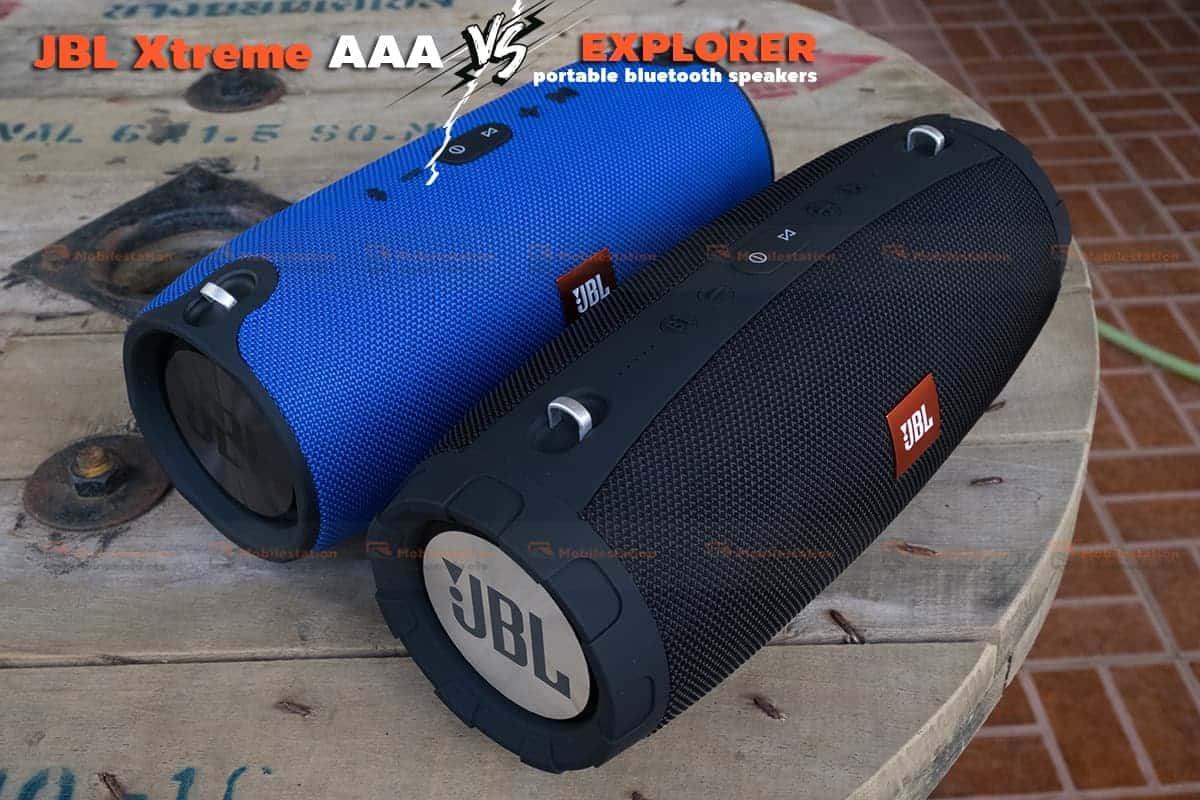 jbl extreme ก็อบ เปรียบเทียบ explorer 2